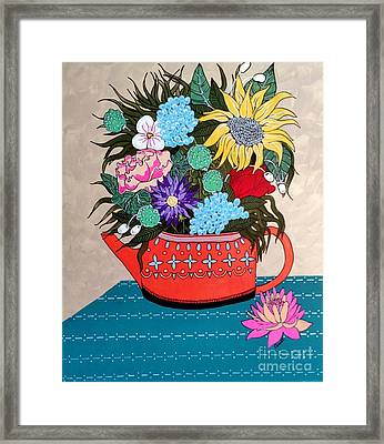 Flowers Framed Print by Amy Sorrell