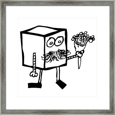 Flowers For You Framed Print by Karl Addison
