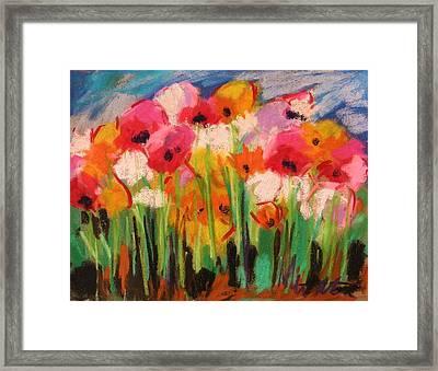 Flowers Framed Print by John Williams