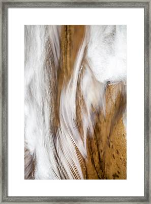 Flowing Free Framed Print by Az Jackson