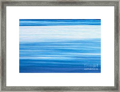 Fluid Motion Framed Print by Az Jackson