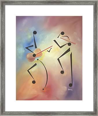 Flutina Framed Print by Ikahl Beckford
