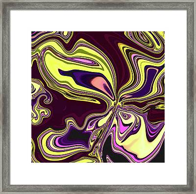 Flutter  Framed Print by Molly McPherson