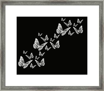 Fly Away Framed Print by Lourry Legarde