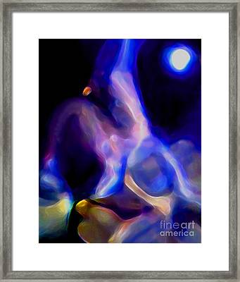Fly By Night Framed Print by Terril Heilman