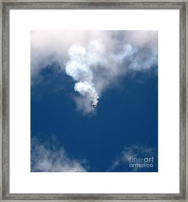 Aerobatic Flyers 3 Framed Print by Marta Robin Gaughen