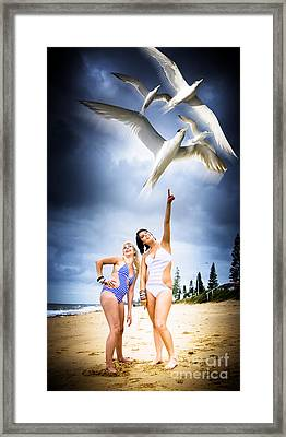 Flying Birds Framed Print by Jorgo Photography - Wall Art Gallery