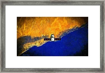 Flying High - Da Framed Print by Leonardo Digenio