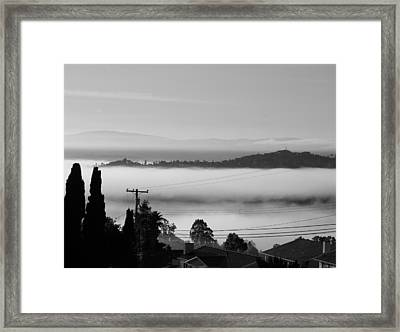Flying Land Framed Print by YT Photo
