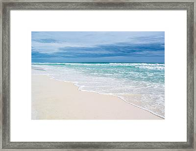 Foamy Waters Framed Print by Shelby Young