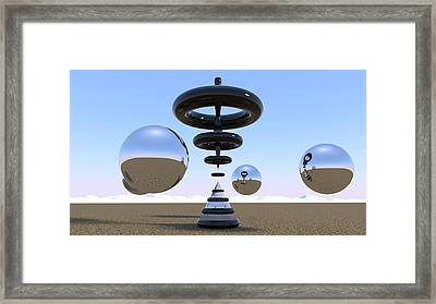 Focus Your Mind Framed Print by Andre Deherrera