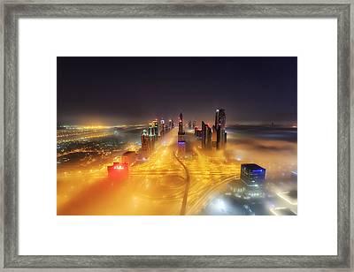 Fog Invasion Framed Print by Mohammad Rustam