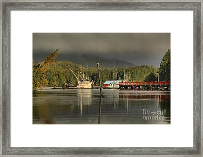Fog Over The Challenger Framed Print by Adam Jewell