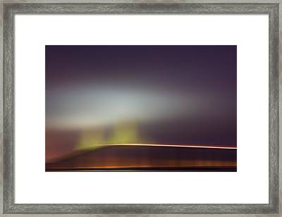 Foggy Dawn X Framed Print by Jon Glaser