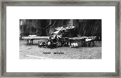 Fokker Tri-motor Airplane Framed Print by Granger