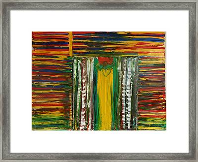 Foleys Arrow - Boston Marathon Memorial IIi Framed Print by Ronald Carlino Jr