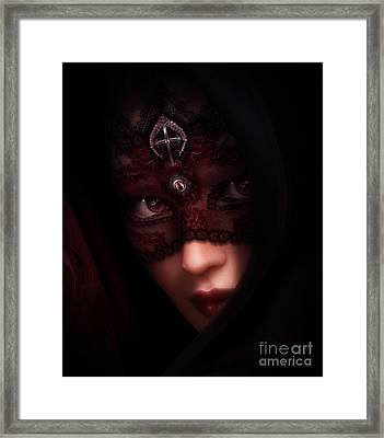 Follow Me Gothic Romance Framed Print by Shanina Conway