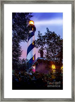 Follow The Light Framed Print by Marvin Spates
