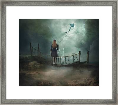 Follow Your Dream .. Framed Print by Nataliorion