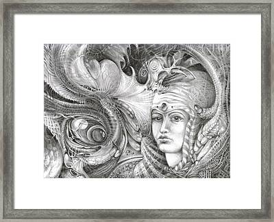 Fomorii King And Queen Framed Print by Otto Rapp