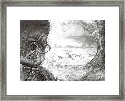 Fomorii Swamp Framed Print by Otto Rapp