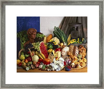 Food 1 Framed Print by Mauro Celotti