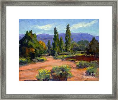 Ancient But Beautiful Framed Print by Maria Hunt