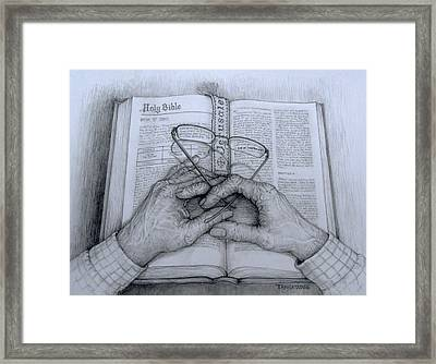 For God So Loved The World Framed Print by Tanja Ware