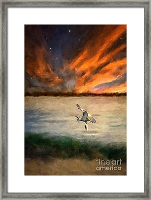For Just This One Moment Framed Print by Lois Bryan