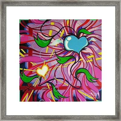 For My Sweetheart Framed Print by Dan Keough