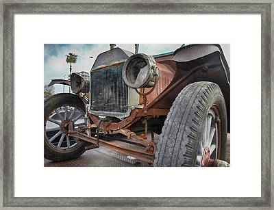 For Sale Needs Paint Framed Print by Bill Dutting