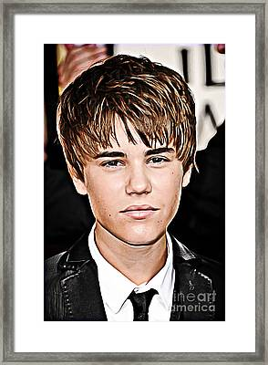 For The Belieber In You Framed Print by The DigArtisT