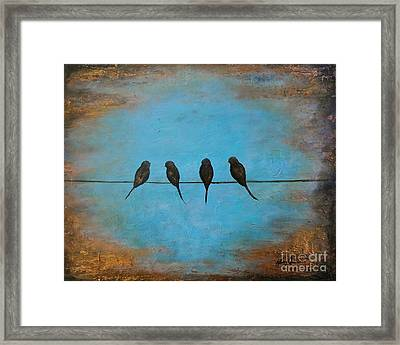 For The Birds Framed Print by Nancy Quiaoit