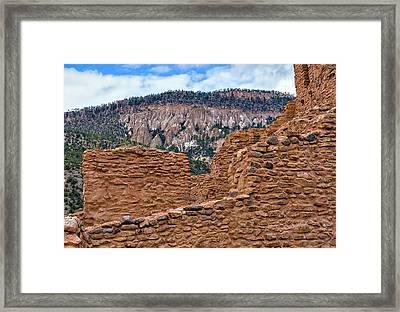Forbidding Cliffs Framed Print by Alan Toepfer