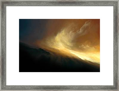 Force Of Nature Framed Print by LC Bailey