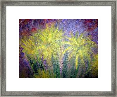 Forced Release  Framed Print by Paula Andrea Pyle
