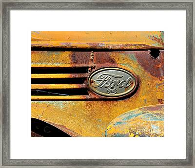 Ford 85 Framed Print by Perry Webster