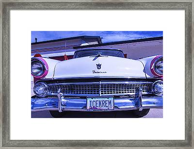 Ford Fairlane Framed Print by Garry Gay