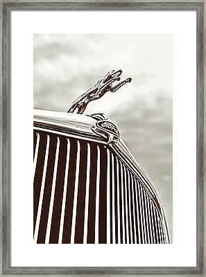 Ford Greyhound Framed Print by Caitlyn Grasso