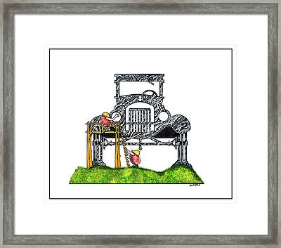 Ford Model T Framed Print by Dennis Baumbach