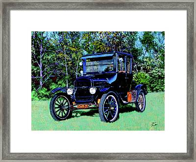 Ford Model T Framed Print by Stan Hamilton