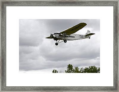 Ford Tri Motor Framed Print by Mark Kantner