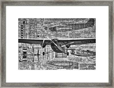 Ford Trimotor 4 Framed Print by Todd and candice Dailey