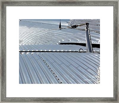 Ford Trimotor Tail Framed Print by Bill Lang
