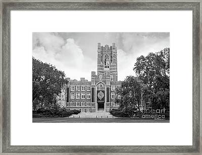 Fordham University Keating Hall Framed Print by University Icons