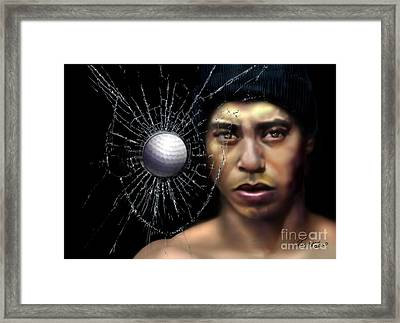 Fore-wood Framed Print by Reggie Duffie