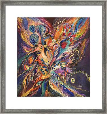 Foreboding Storm Framed Print by Elena Kotliarker