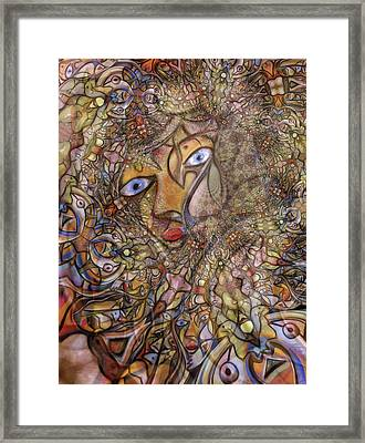 Foreshadowing Of The Amazon Framed Print by Andrew Osta