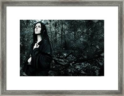 Forest Demon Framed Print by Cambion Art