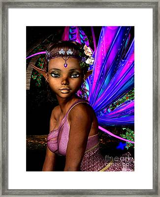 Forest Fairy Framed Print by Alexander Butler